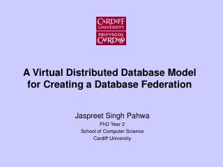 A Virtual Distributed Database Model for Creating a Database Federation