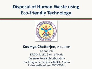 Disposal of Human Waste using  Eco-friendly Technology