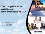 XXII Congreso de la Asociacion Iberoamericana de GLP
