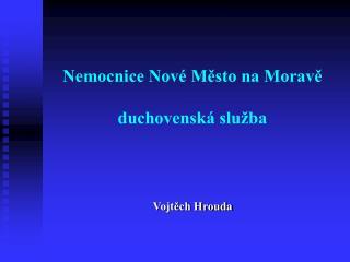 Nemocnice Nové Město na Moravě duchovenská služba