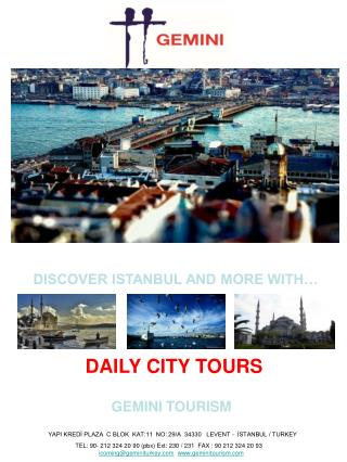 YAPI KREDİ PLAZA  C BLOK  KAT:11  NO: 29/A  34330   LEVENT -  İSTANBUL / TURKEY