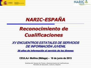 NARIC-ESPA�A