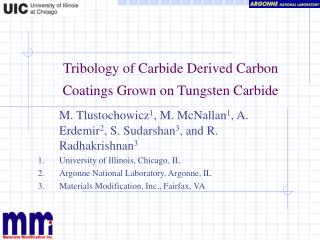 Tribology of Carbide Derived Carbon Coatings Grown on Tungsten Carbide