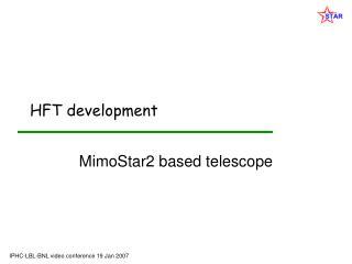 HFT development
