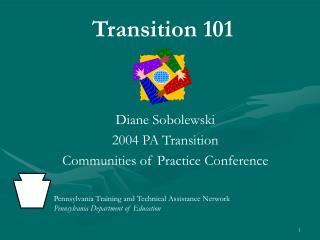 Transition 101