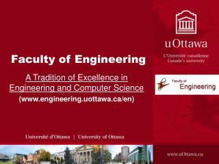 Facult y of Engineering