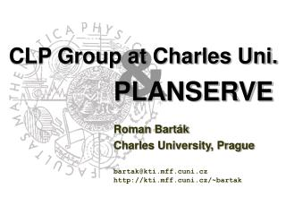 CLP Group at Charles Uni.