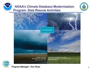 NOAA's Climate Database Modernization Program- Data Rescue Activities