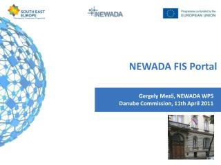 Gergely Mező, NEWADA WP5 Danube Commission, 11th April 2011