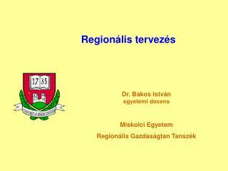 Regionális tervezés