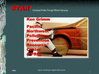 STAR  Increased Profits Through Efficient Spraying