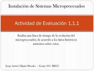 Actividad de Evaluación 1.1.1
