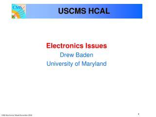 USCMS HCAL