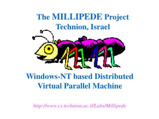 Windows-NT based Distributed  Virtual Parallel Machine