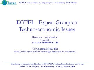 EGTEI – Expert Group on Techno-economic Issues
