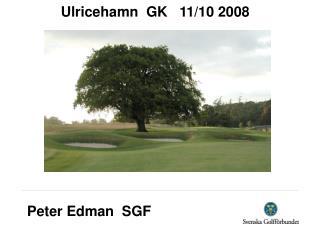 Peter Edman  SGF