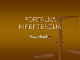 PORTALNA HIPERTENZIJA