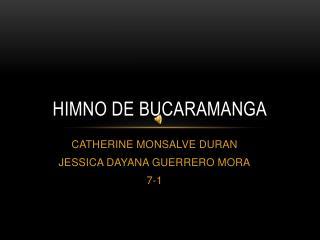 Himno de Bucaramanga