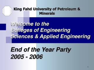 King Fahd University of Petroleum & Minerals