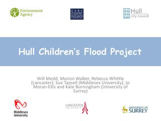 Hull Children's Flood Project