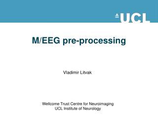 M/EEG pre-processing