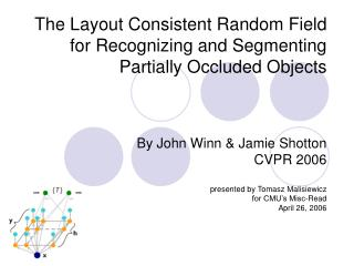 The Layout Consistent Random Field for Recognizing and Segmenting Partially Occluded Objects