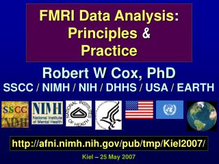 FMRI Data Analysis : Principles  & Practice