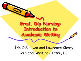 Grad. Dip Nursing: Introduction to Academic Writing