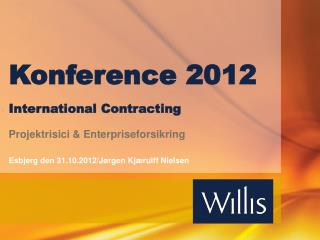 Konference 2012 International Contracting