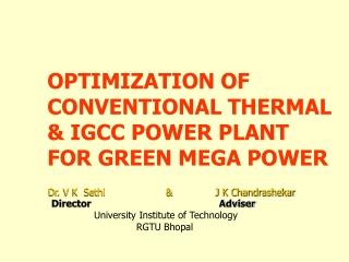Efficiency in Power stations