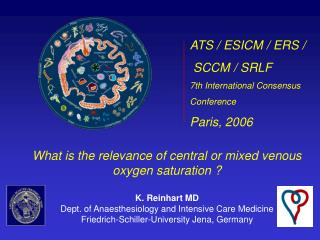 What is the relevance of central or mixed venous oxygen saturation ? K. Reinhart MD