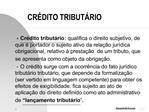 CR DITO TRIBUT RIO
