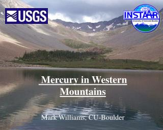 Mercury in Western Mountains