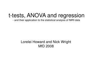 Lorelei Howard and Nick Wright MfD 2008