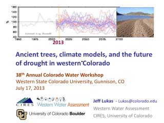 Ancient trees, climate models, and the future of drought in western Colorado