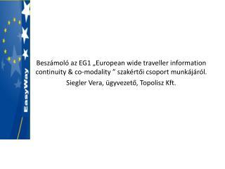 Utazási információs szolgáltatások