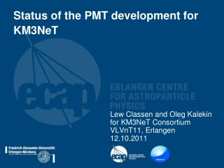 Status of the PMT development for KM3NeT
