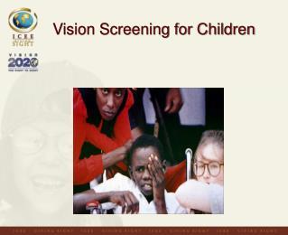 Vision Screening for Children