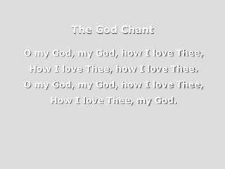 The God Chant