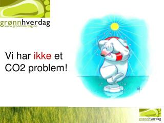 Vi har  ikke  et CO2 problem!
