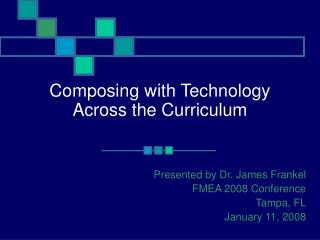 Composing with Technology Across the Curriculum