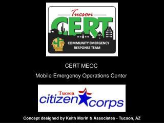 CERT MEOC Mobile Emergency Operations Center
