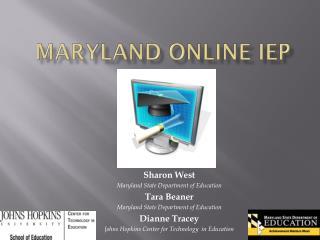 Maryland online iep