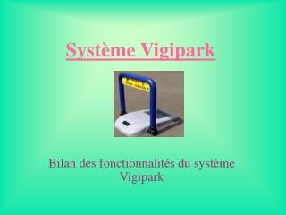 Système Vigipark