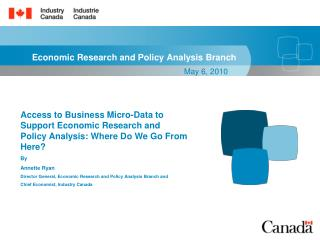 Economic Research and Policy Analysis Branch