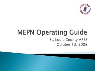 MEPN Operating Guide