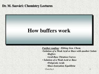 How buffers work