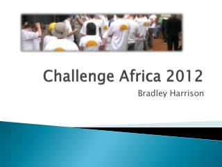 Challenge Africa 2012