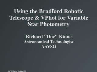 What is the Bradford Robotic Telescope?