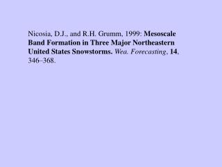 Case 1: 4-5 February 1995 snowstorm
